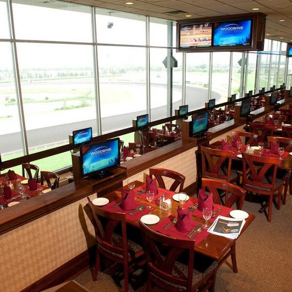 Tiered seating in the Woodbine Dining Room