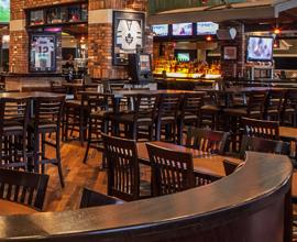 photo of an empty bar