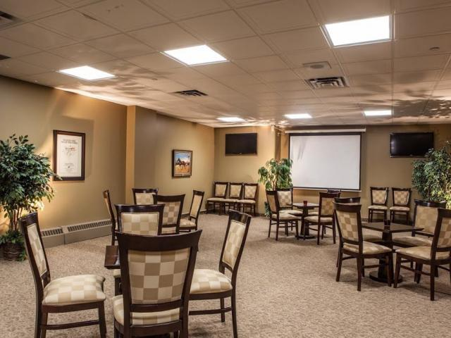 interior shot of Pepsi North American Cup Room